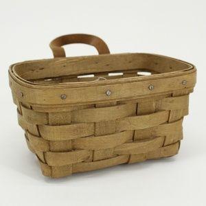 Vintage Longaberger Woven Basket